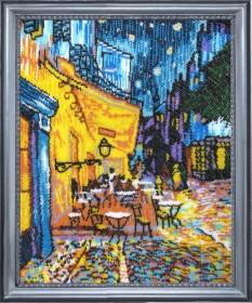 Набор для вышивки бисером Ночное кафе (по мотивам Ван Гога)