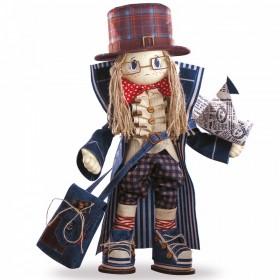 Набор для шитья куклы Гек, , 775.00грн., К1031, KUKLA NOVA, Наборы для шитья кукол