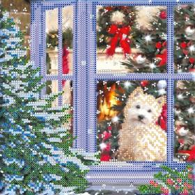 Схема вышивки бисером на холсте Рождественская история, , 52.00грн., АС-521, Абрис Арт, Новый год