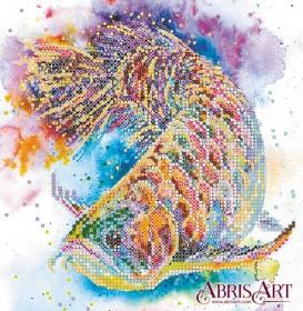 Схема вышивки бисером на холсте Рыбка удачи