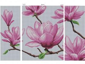 Схема вышивки бисером на габардине Яблоня, , 200.00грн., К-688, Рідний край, Картины из нескольких частей
