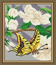 Набор для выкладки алмазной мозаикой Яблоневый цвет Триптих Часть 2, , 280.00грн., АТ5558, Art Solo, Картины из нескольких частей
