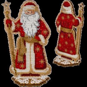 Набор для вышивки  бисером по дереву Дед Мороз Волшебная страна FLK-302 - 470.00грн.