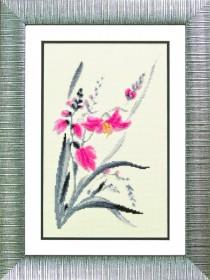 Набор для вышивания в смешанной технике Аленький цветочек, , 207.00грн., М-113, Чарiвна мить (Чаривна мить), Цветы