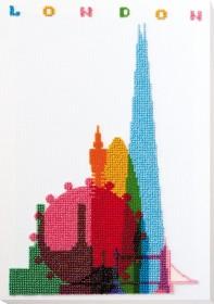 Набор для вышивки бисером на натуральном художественном холсте Новый Лондон Абрис Арт АВ-763 - 386.00грн.