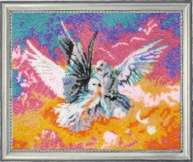 Набор для вышивки бисером Голубки Баттерфляй (Butterfly) 522Б - 531.00грн.
