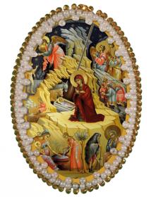 Набор для изготовления подвески Рождество Христово Zoosapiens РВ3211 - 128.00грн.