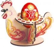 Набор-конструктор Пасхальная курица в красных тонах