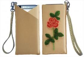 Чехол для телефона для вышивки бисером Розочкка