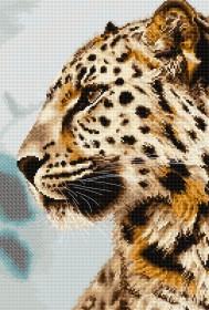 Набор для вышивки крестом Леопард