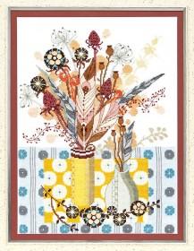 Набор для вышивания крестом Зимний букет