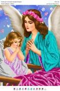 Схема для вышивки бисером на атласе Ангел завжди з тобою