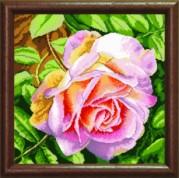 Схемы для вышивания бисером на авторской канве Роза
