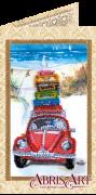 Набор-открытка для вышивки бисером Отпуск у моря