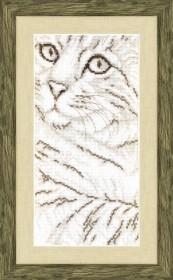 Набор для вышивки крестиком  Портрет кота