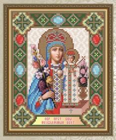Набор для выкладки алмазной мозаикой Богородица Неувядаемый цвет Art Solo АТ5016 - 248.00грн.