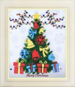 Набор для вышивки нитками (стиль Rococo) Счастливого рождества! OLANTA R - 039 - 195.00грн.