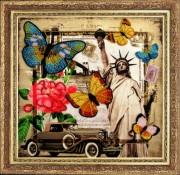 Набор для вышивки бисером Привет из Америки