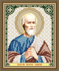Схемы вышивки бисером на авторской канве Святой Пророк Елисей Art Solo VIA5189 - 25.00грн.