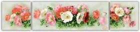 Схема для вышивки бисером на габардине Ароматные маки , , 355.00грн., СК-007, Tela Artis (Тэла Артис), Картины из нескольких частей