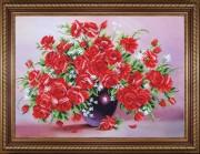 Набор для вышивки бисером Миллион алых роз