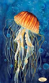 Схема вышивки бисером на атласе Медуза в пузырьках Tela Artis (Тэла Артис) та-447 - 98.00грн.