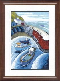 Набор для вышивания крестом Запах моря