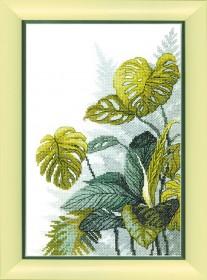 Набор для вышивки крестом В тропических лесах