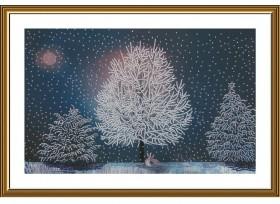 Набор для вышивки бисером В серебряном лесу Новая Слобода (Нова слобода) НК3304 - 436.00грн.