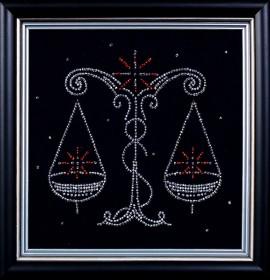 Набор для вышивки бисером Весы, , 102.00грн., БГ-010 МК, Магия канвы, Гороскоп