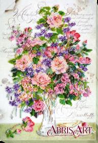Набор для вышивания бисером Любимого почерк Абрис Арт АВ-575 - 392.00грн.