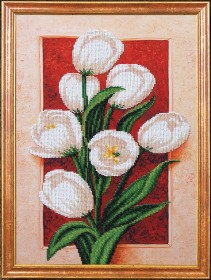 Набор для вышивки бисером Пробуждение Тюльпаны