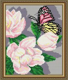 Набор для выкладки алмазной мозаикой Магнолии Триптих Часть 3, , 280.00грн., АТ5562, Art Solo, Картины из нескольких частей