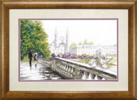 Набор для вышивки крестом Мост влюблённых
