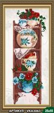 Рисунок на ткани для вышивки бисером Полочка 1 Art Solo VKA3063