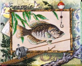 Набор для вышивки бисером на холсте Удачная рыбалка, , 894.00грн., АВ-592, Абрис Арт, Натюрморты