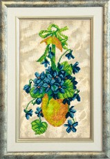 Набор для вышивки ювелирным бисером Пасхальные истории Краса и творчiсть 30315