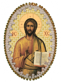Набор для изготовления подвески Христос Спаситель Zoosapiens РВ3205 - 128.00грн.