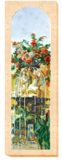 Набор для вышивки бисером на холсте Сад Богов 2 Абрис Арт АВ-425