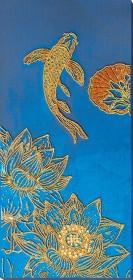 Набор для вышивки бисером Кои синий Абрис Арт АВ-825 - 607.00грн.