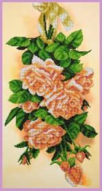 Набор для вышивки бисером Винтажные розы Картины бисером Р-387 - 460.00грн.