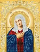 Схема для вышивки бисером Умиление Пресвятой Богородицы
