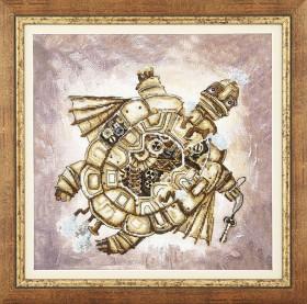 Набор для вышивки крестом Золотая черепаха Чарiвна мить (Чаривна мить) РК-135 - 391.00грн.