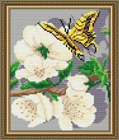 Набор для выкладки алмазной мозаикой Яблоневый цвет Триптих Часть 1, , 280.00грн., АТ5557, Art Solo, Картины из нескольких частей