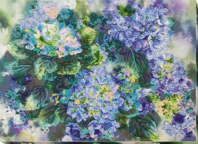 Набор для вышивки бисером Гортензии Абрис Арт АВ-725 - 478.00грн.