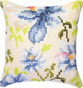 Набор подушки для вышивки крестом Цветы Luca-S РВ155 - 329.00грн.
