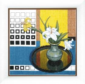 Набор для вышивки крестом Очарование цветом