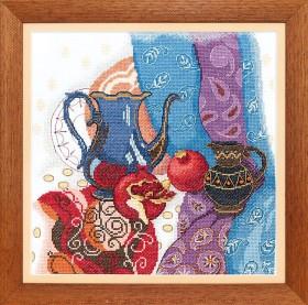Набор для вышивания крестом Восточный натюрморт, , 195.00грн., ВТ-139, Cristal Art, Натюрморты