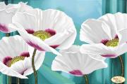 Схема для вышивки бисером на атласе Цветок ангелов