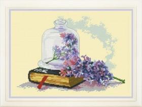 Набор для вышивки нитками Натюрморт с сиренью, , 395.00грн., VN - 060, OLANTA, Натюрморты